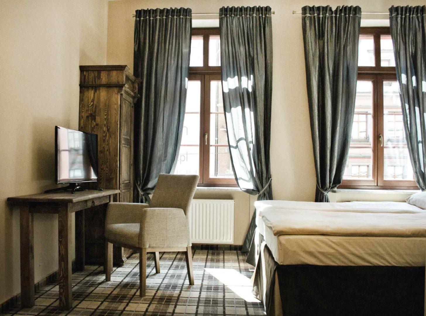 hostel wrocław pokój dwuosobowy