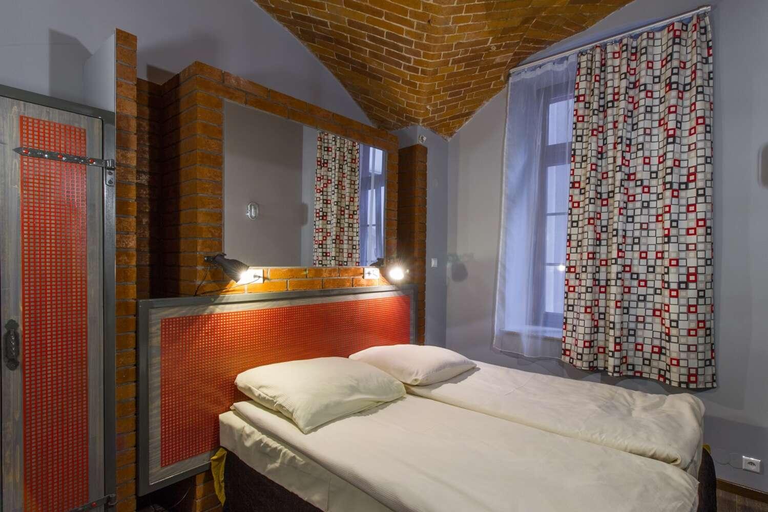 duże łóżko podwójne apartament five stars